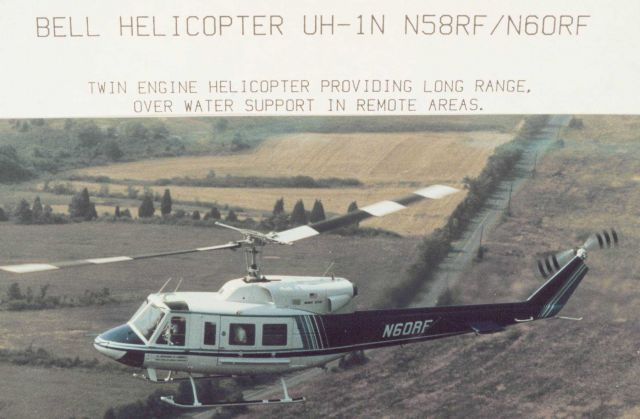 NOAA Bell UH-1N helicopters Picture