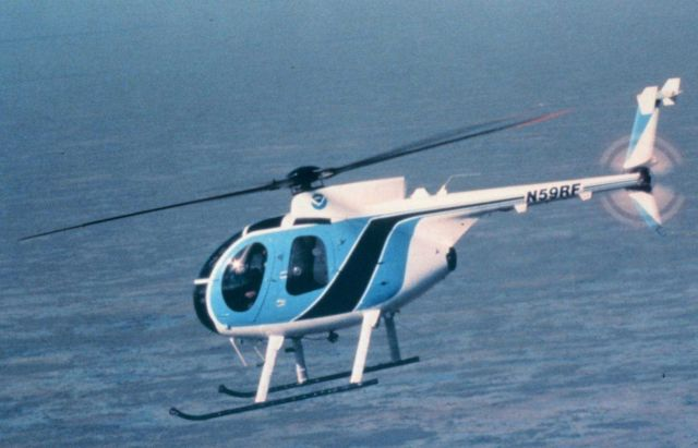 McDonnell-Douglas MD-500D helicopter multi-mission helicopter. Picture