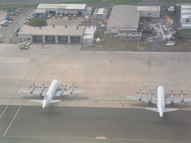 NOAA P-3s seen on ground at St Picture