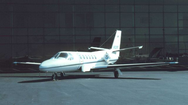 NOAA Cessna Citation II N52RF at Dulles International Airport. Picture