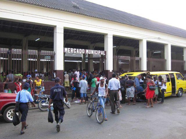Market, Sao Tome Picture