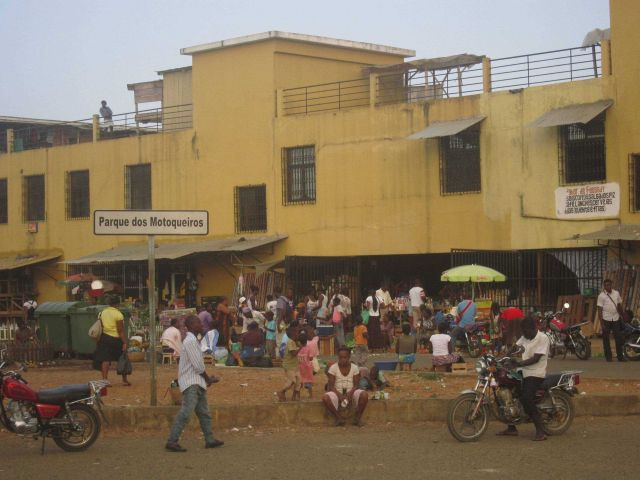 Outdoor market, Sao Tome Picture