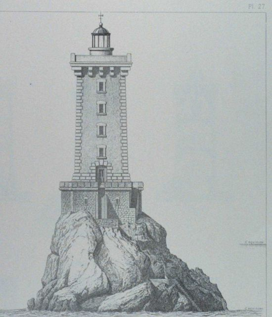 The Lighthouse at Triagoz Picture