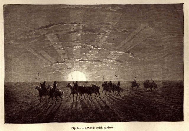 Sunrise on the desert Picture