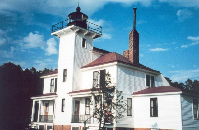 Raspberry Island Lighthouse Picture