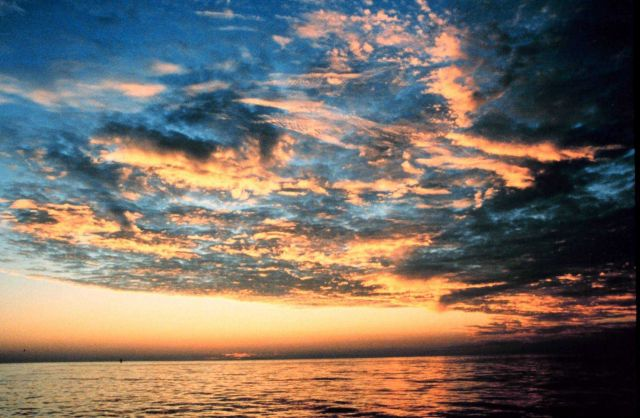Sunset in Gulf of Mexico Picture