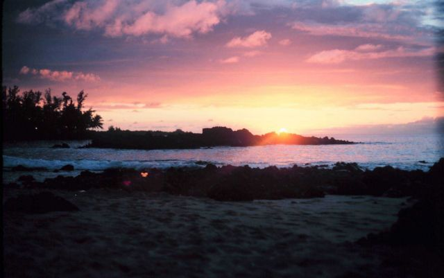 A Kona Coast sunset Picture