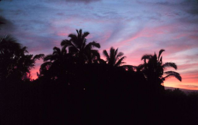 A Hilo sunset Picture