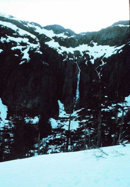 A waterfall in Prince William Sound Picture