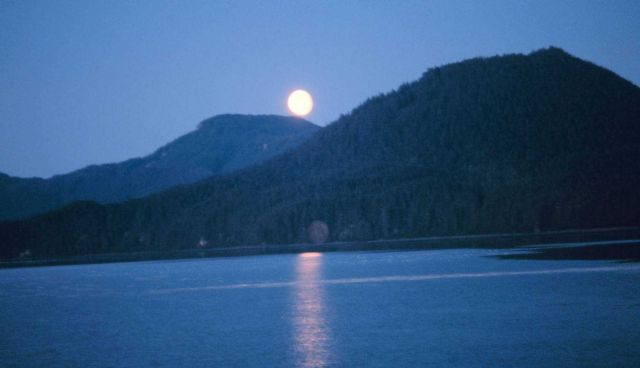 Moonrise on Hobart Bay Picture