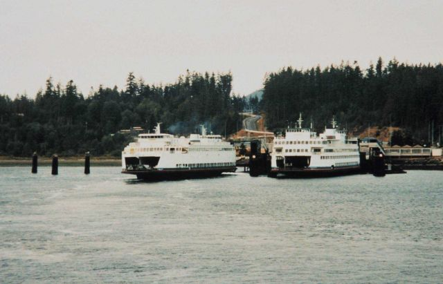 Puget Sound ferry boats Picture