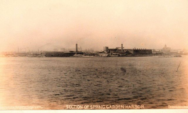 Spring Garden Harbor section of Baltimore Harbor Picture
