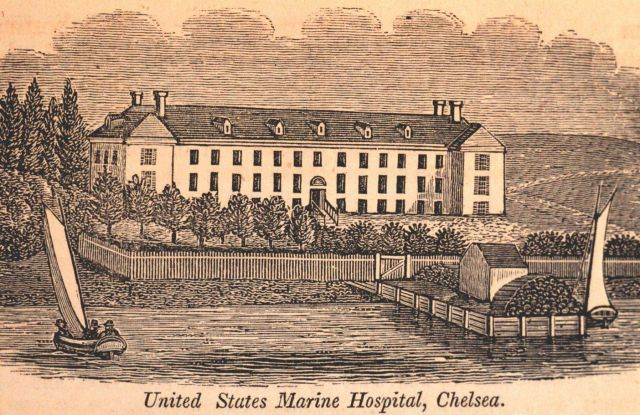 The United States Marine Hospital at Chelsea Picture