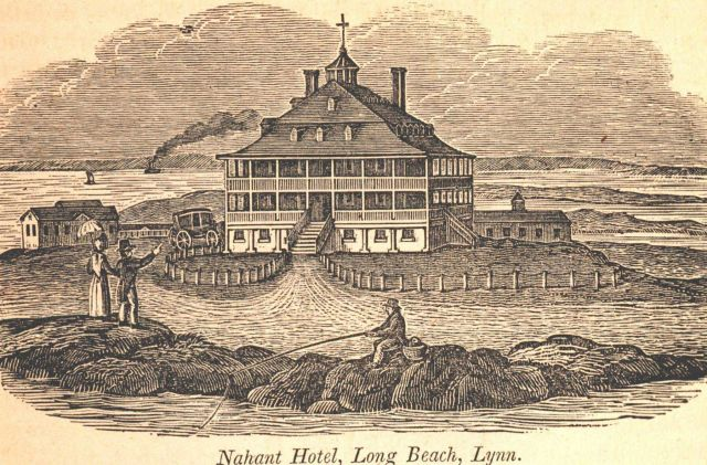 The Nahant Hotel at Long Beach Picture