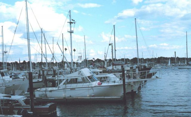 Recreational fishing boats at Newport Picture