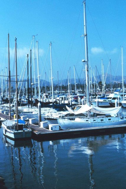 The yacht harbor at Ventura. Picture