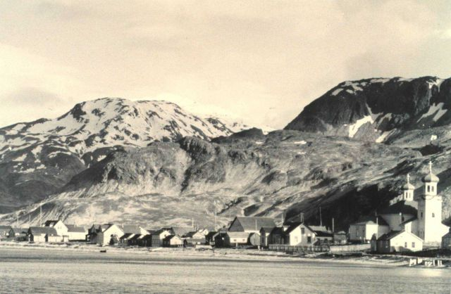 The villlage of Unalaska Picture