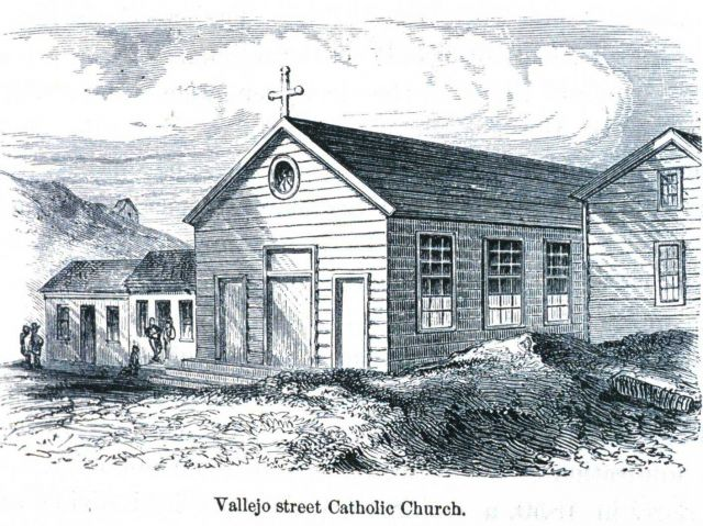 The Vallejo Street Catholic Church Picture