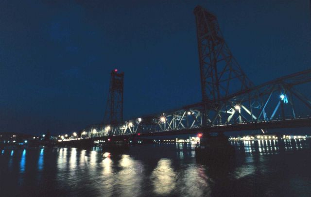 A Portsmouth Harbor Bridge. Picture