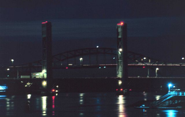 A Portsmouth Harbor Bridge. Picture