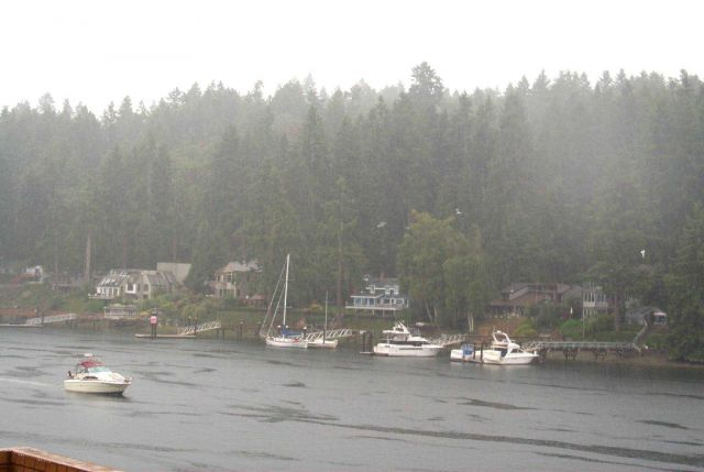 A rainy day at Gig Harbor Picture