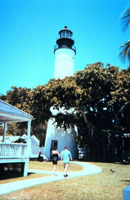 The lighthouse at Key West. Picture