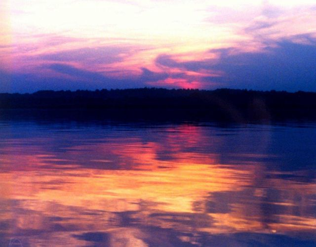 A Patuxent River sunset. Picture
