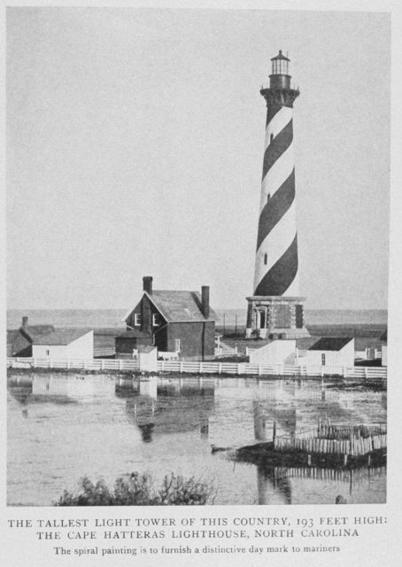 The Tallest Lighthouse Tower of this Country, 193 Feet High; The Cape Hatteras Lighthouse, North Carolina Picture