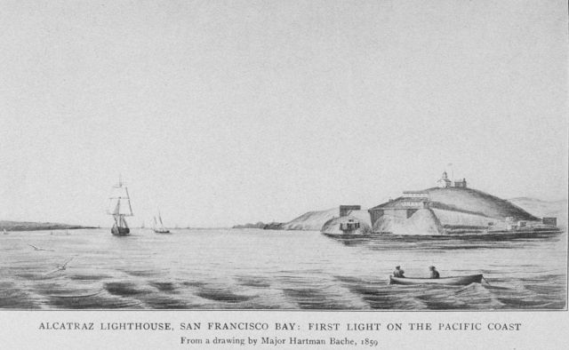 Alcatraz Lighthouse, San Francisco Bay: First Light on the Pacific Coast Picture