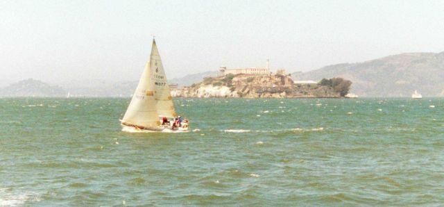 San Francisco Bay sailing Picture