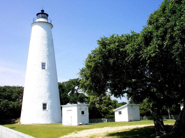 The Ocracoke Lighthouse. Picture