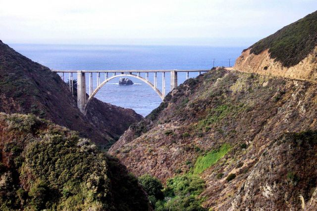 Bixby Canyon Bridge. Picture
