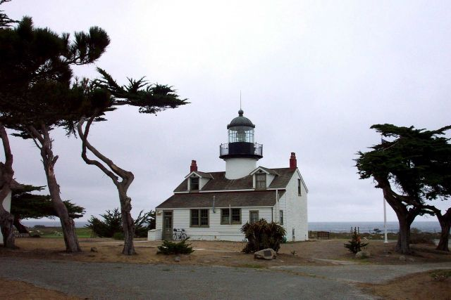 The Point Pinos Lighthouse. Picture