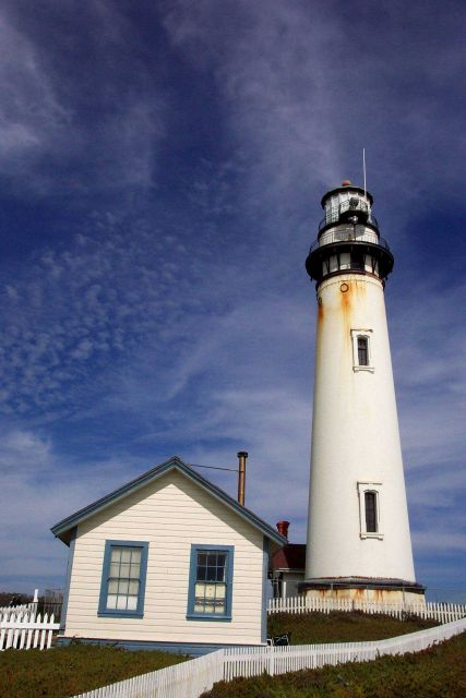 Pigeon Point Lighthouse, 27 miles north of Santa Cruz along Highway 1 Picture