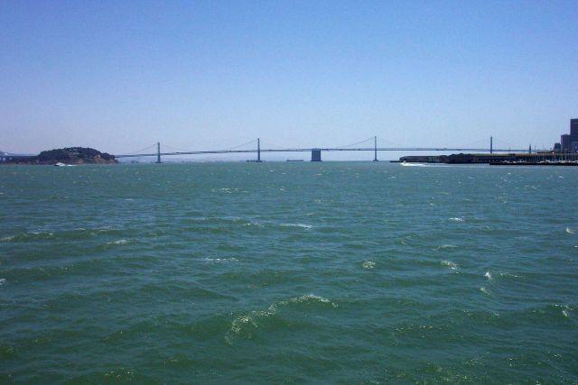 The San Francisco-Oakland Bay Bridge. Picture