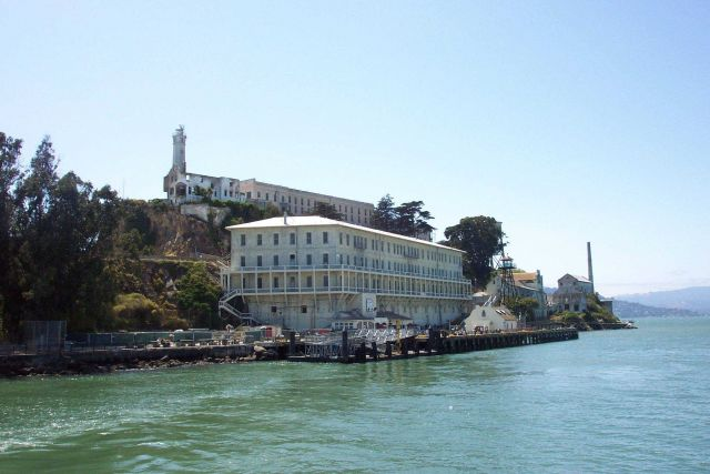 The pier at Alcatraz Picture
