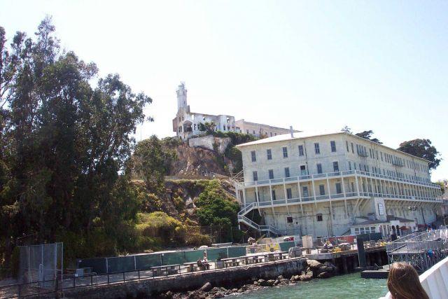 The pier at Alcatraz Picture
