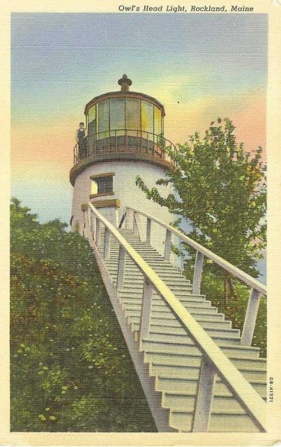 Owl's Head Light Picture