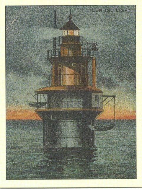 Deer Island Light Picture
