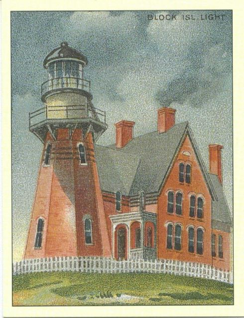 Southeast Block Island Light Picture