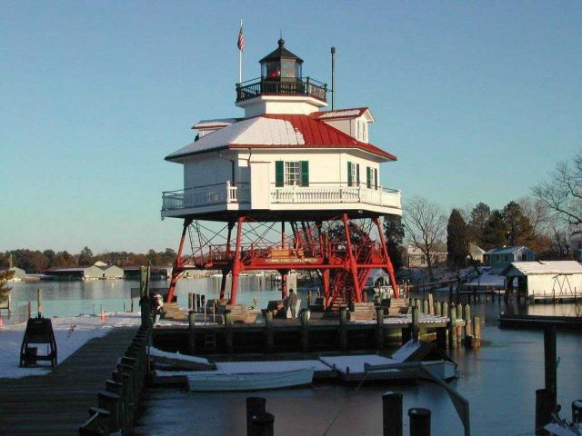 Drum Point Lighthouse Picture