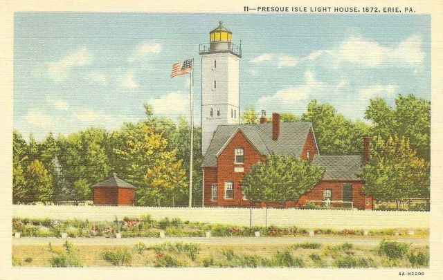 Presque Isle Lighthouse Picture