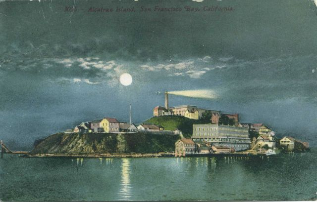Alcatraz Lighthouse Picture