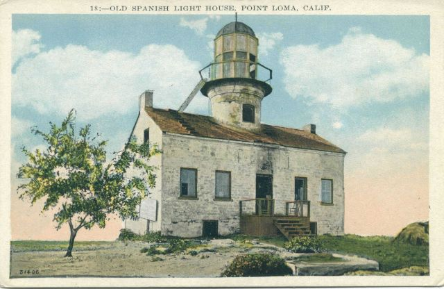 Upper Point Loma Lighthouse Picture