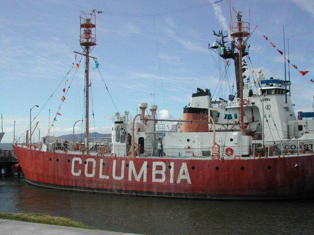 Columbia River Lightship Picture