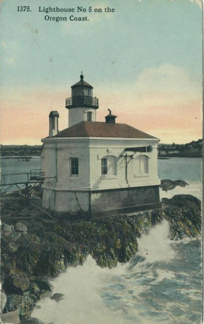 Coquille River Lighthouse, known as Lighthouse No Picture