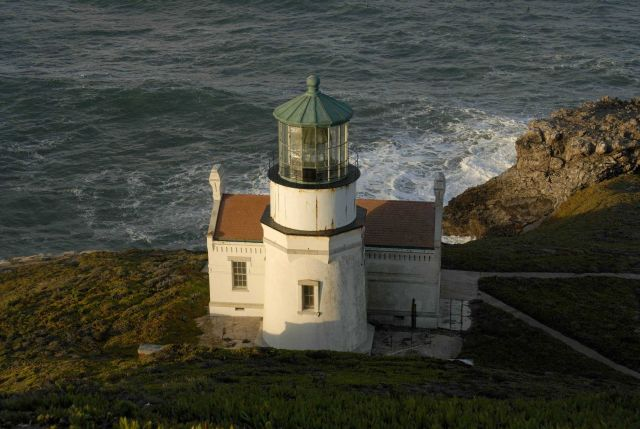 The Point Conception Lighthouse. Picture