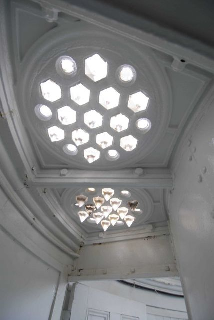 Interior decor in the Point Conception Lighthouse. Picture