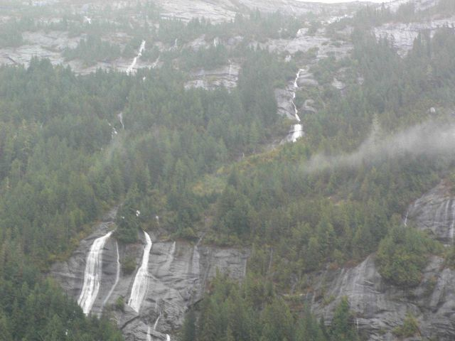 Mist and waterfalls. Picture