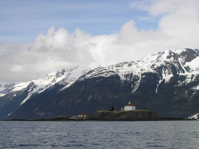 Eldred Rock Lighthouse. Picture